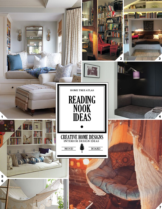 A Cozy Getaway: Reading Nook Ideas