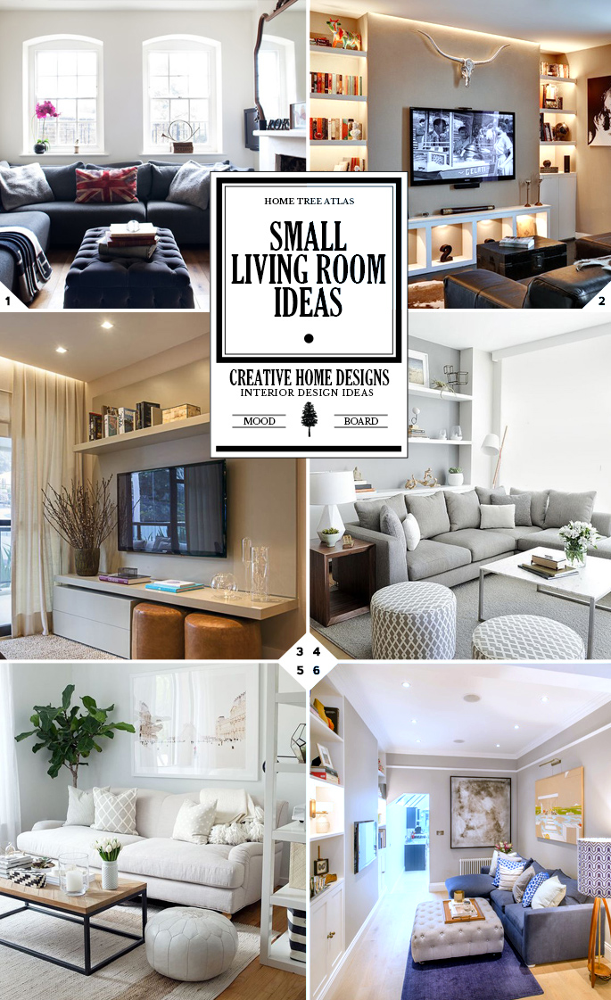 Design Tips: Small Living Room Ideas | Home Tree Atlas