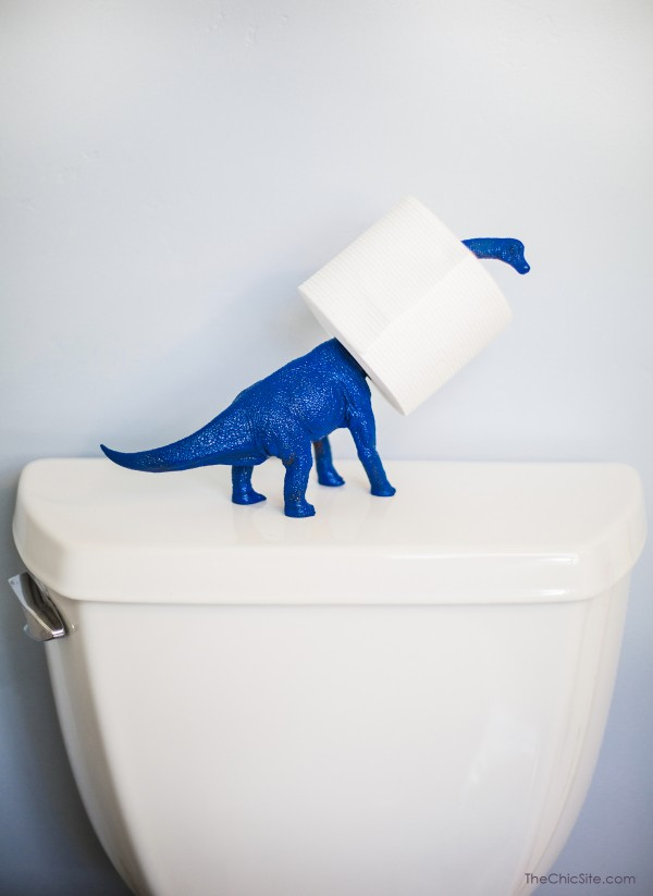 Funny toilet paper holder