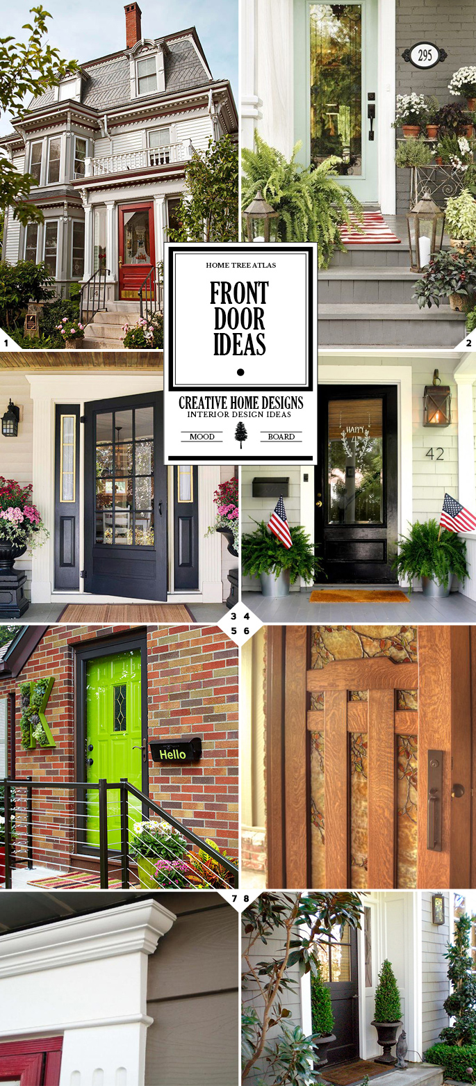 Welcome Home: Front Door Ideas, Decor, and Color