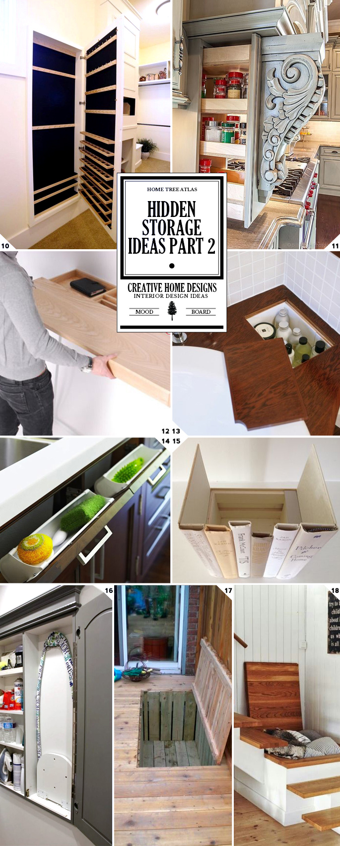 Hidden storage ideas part 2
