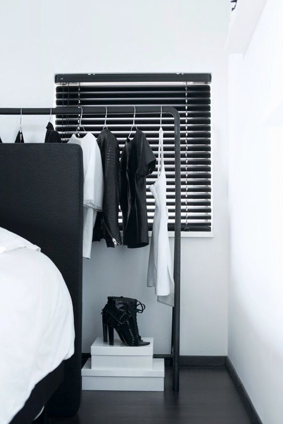 No Closet Solutions and Storage Ideas