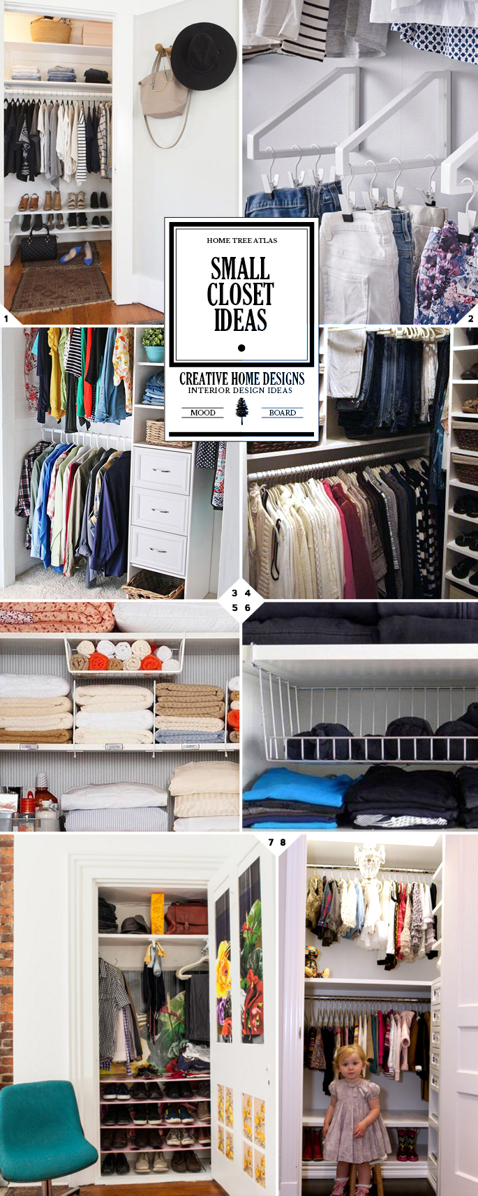 Smart Small Closet Organization Ideas and Storage Tricks