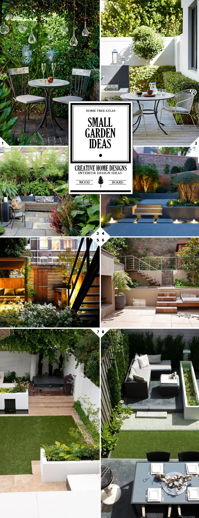 Small Garden Ideas and Designs: Making The Most of Your Space
