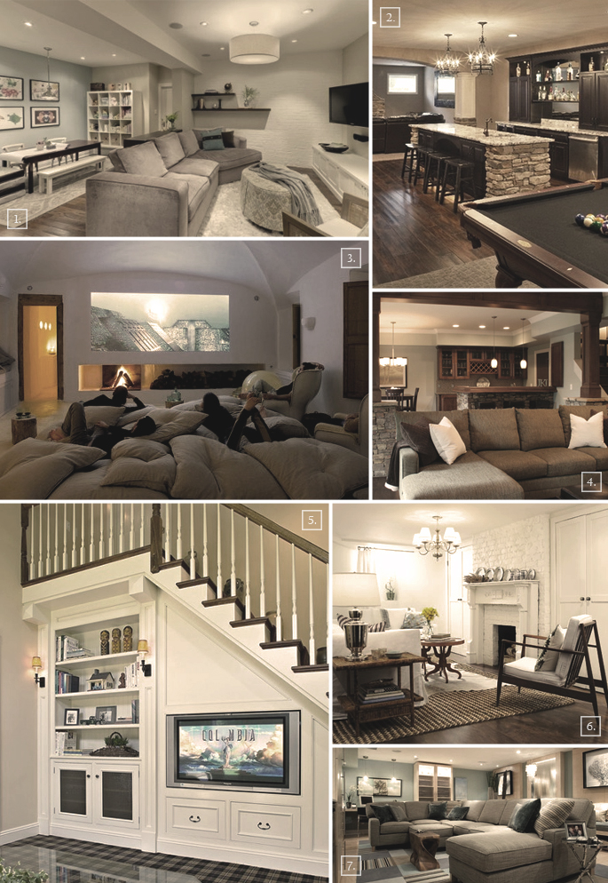 Turning A Basement Into A Family Room Designs Ideas Home Tree Atlas