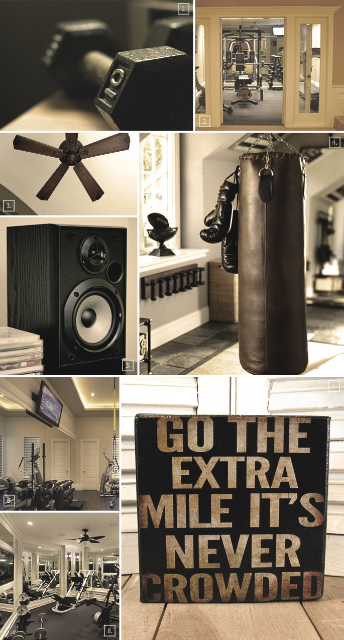 Interior Design Ideas For Home Gym: Ideas For Setting Up A Home Gym In A Basement