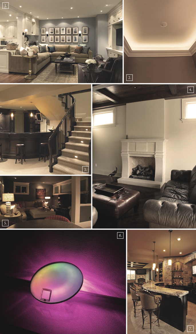 Basement Stair Ceiling Lighting: Design Guide: Basement Lighting Ideas And Options
