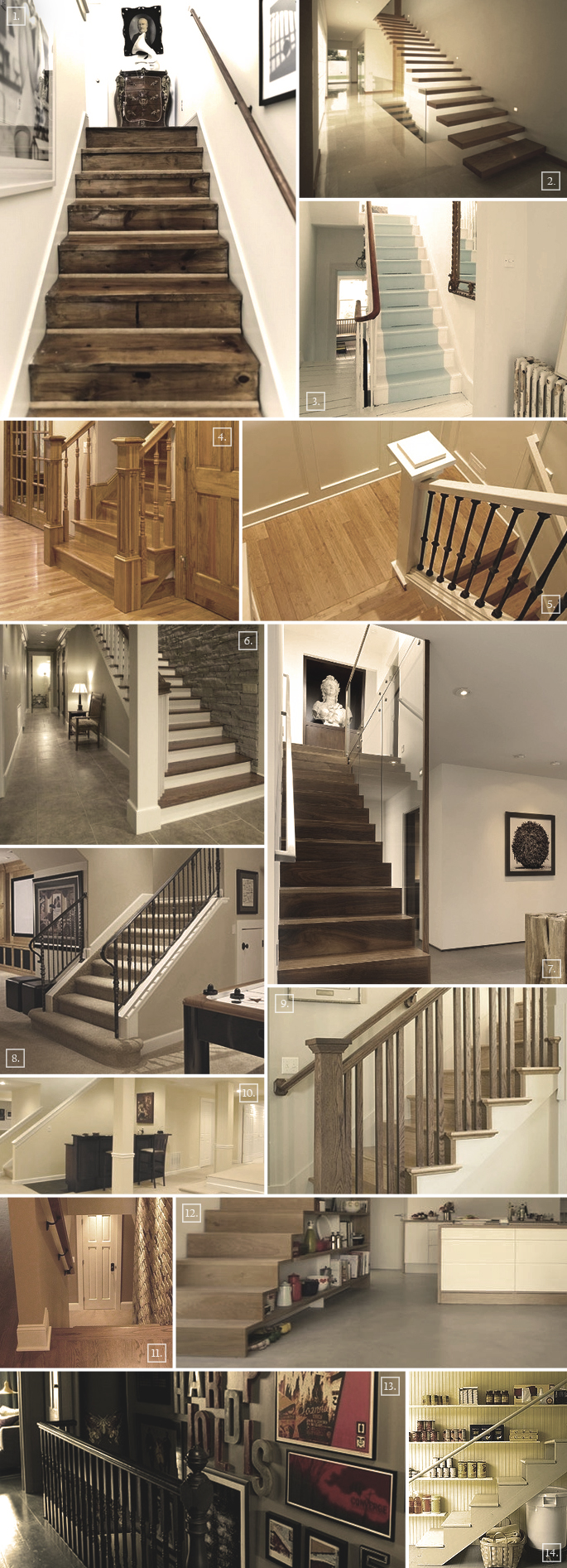 Lighting Basement Washroom Stairs: Ideas For A Basement Staircase: Designs, Railings, Storage