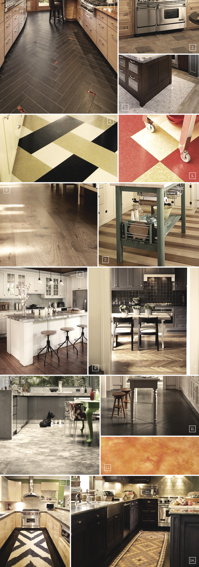 Attractive And Easy To Maintain Kitchen Flooring Options