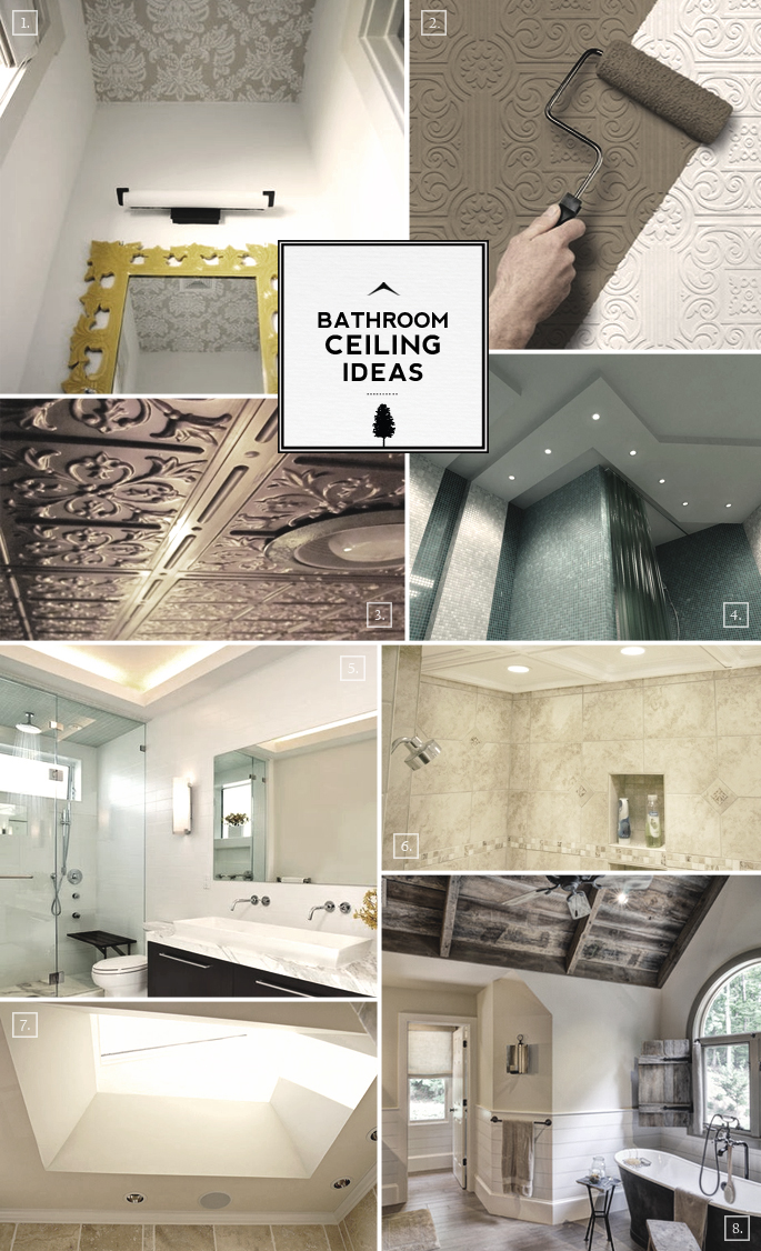 Bathroom Ceiling Ideas: From Cove to Tiled Designs | Home ...