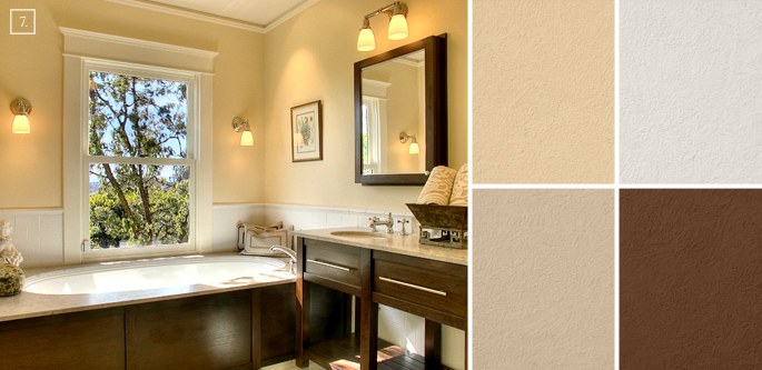 Bathroom Color Ideas: Palette And Paint Schemes