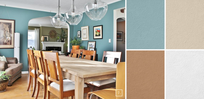 20 Living Room Color Palettes You Ve Never Tried: Dining Room Colors And Paint Scheme Ideas