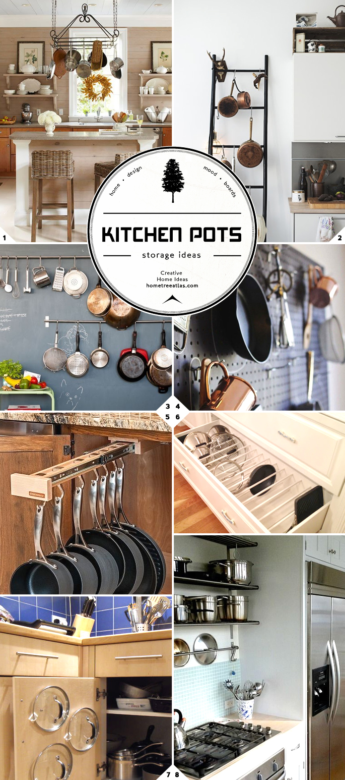 Kitchen Storage And Organization Part 2 Pot And Pan