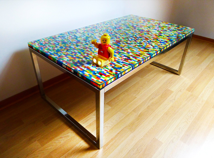 21 Insanely Cool Diy Lego Furniture And Home Decor Creations Home