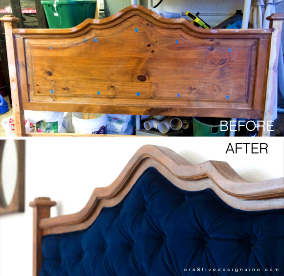 How To Design Your Own Diy Tufted Headboard In 4 Steps Home Tree