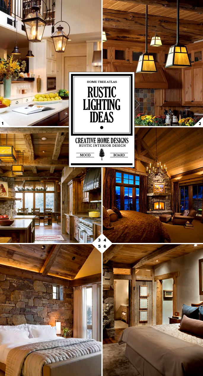 Style guide rustic lighting fixtures and ideas