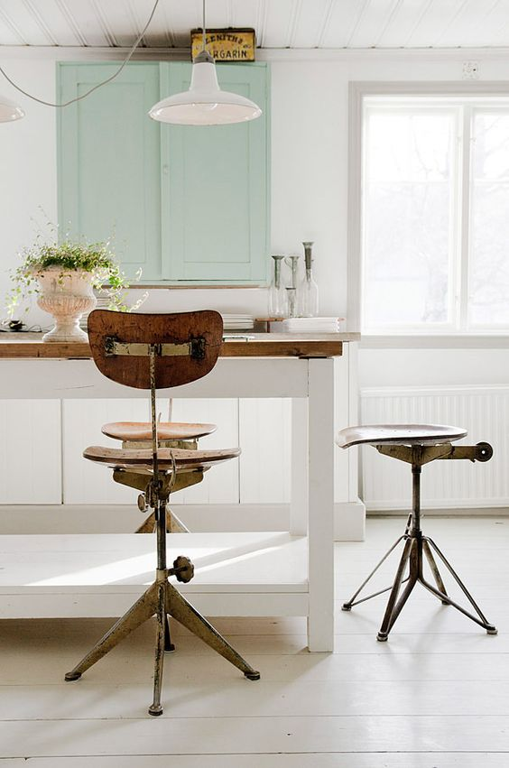 Vintage kitchen lighting fixtures and ideas & Vintage Kitchen Lighting Ideas: From School House Lights to ...