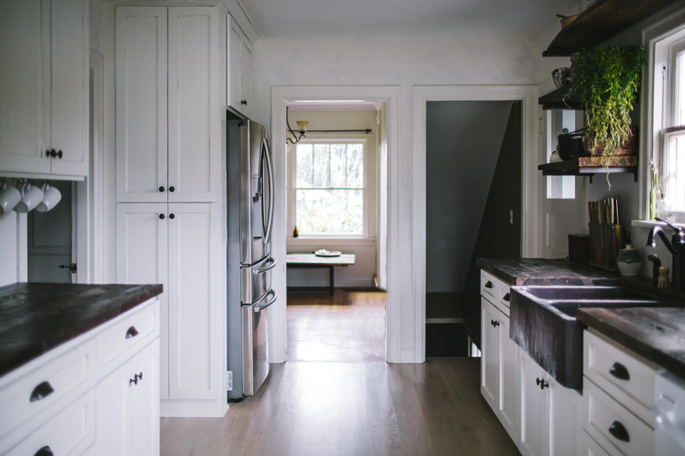 Before And After A Modern Rustic Kitchen Makeover Home