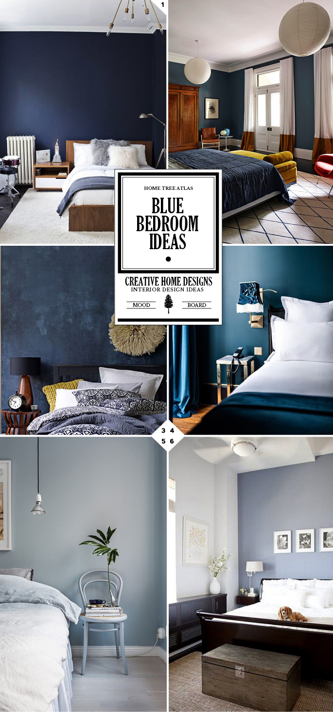 Style Guide Blue Bedroom Ideas And Designs Home Tree Atlas