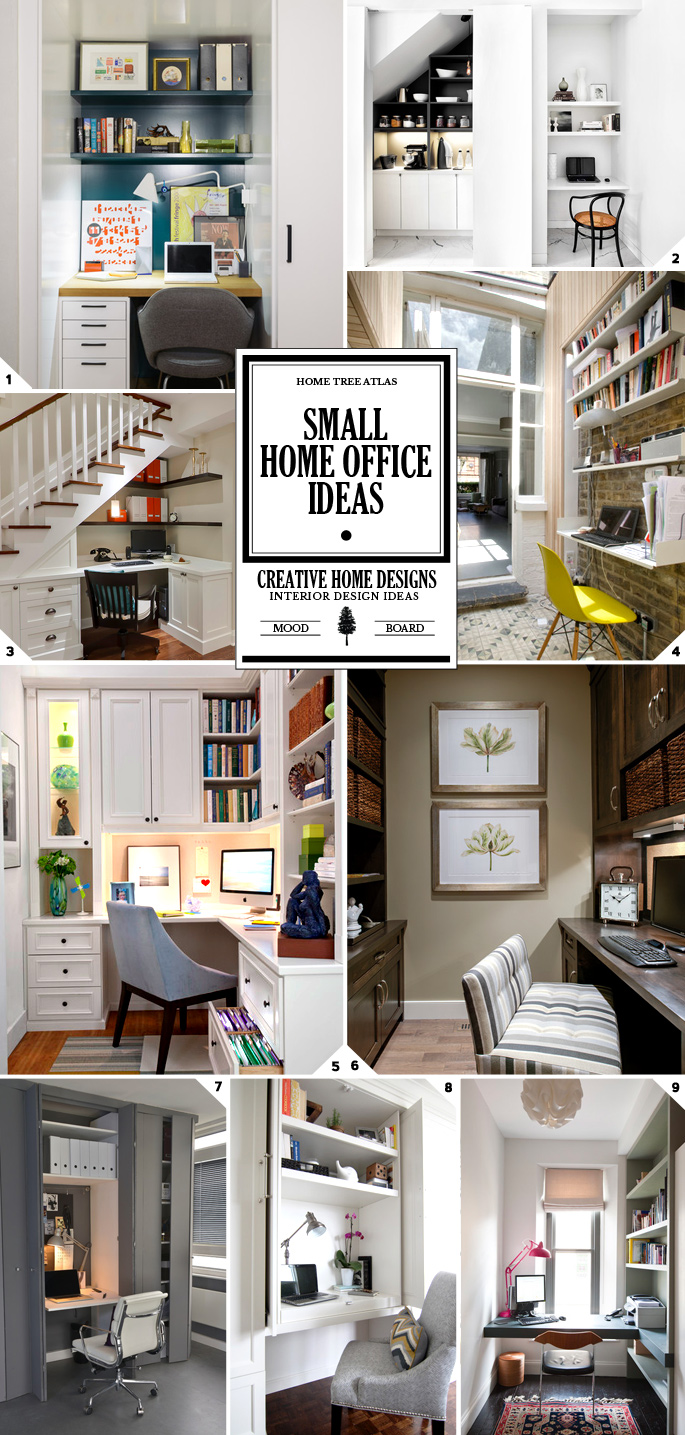 4 Ways To Maximize Space In A Small Home Office: Ideas And