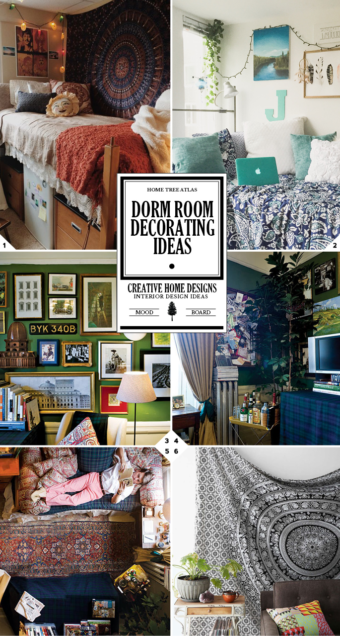 Creative Room Design Ideas: Creative Dorm Room Decorating Ideas That Will Make Styling