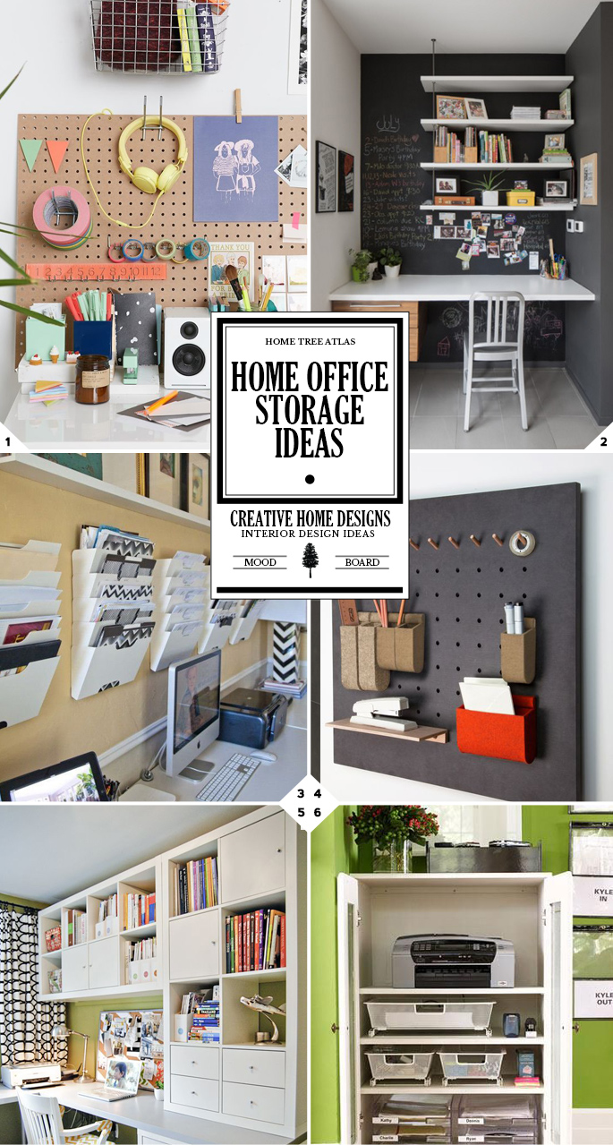 The command center home office organization and storage - Home office organization ideas ...