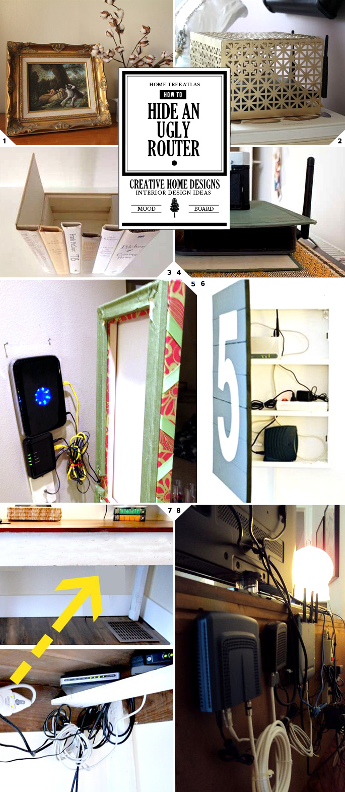 How To Make Your Router Disappear 6 Inventive And